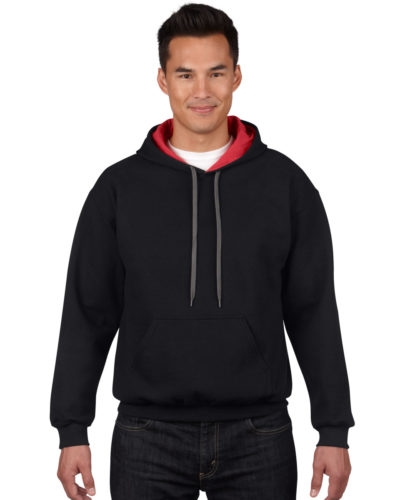 Men's Heavy Blend Contrast Hooded Sweatshirt