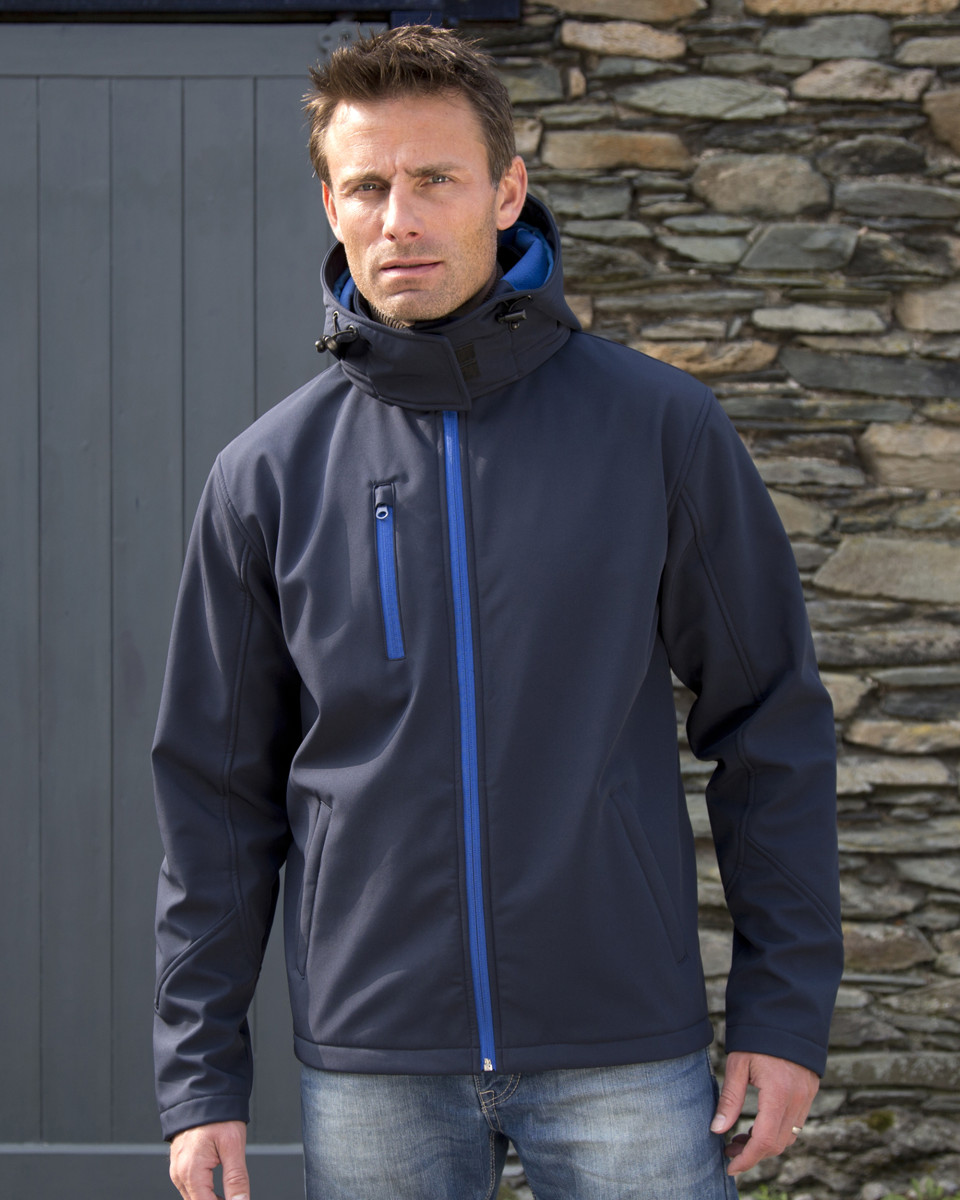 Result Men's Hooded TX Performance Softshell Jacket (R230M) - LA Safety  Supplies