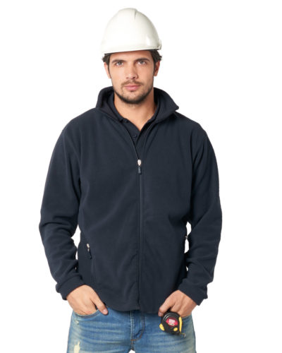 Ultimate Clothing Full Zip Fleece